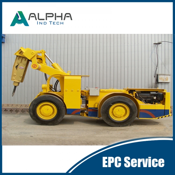 ALHA-1100Mobile Rock Breaker