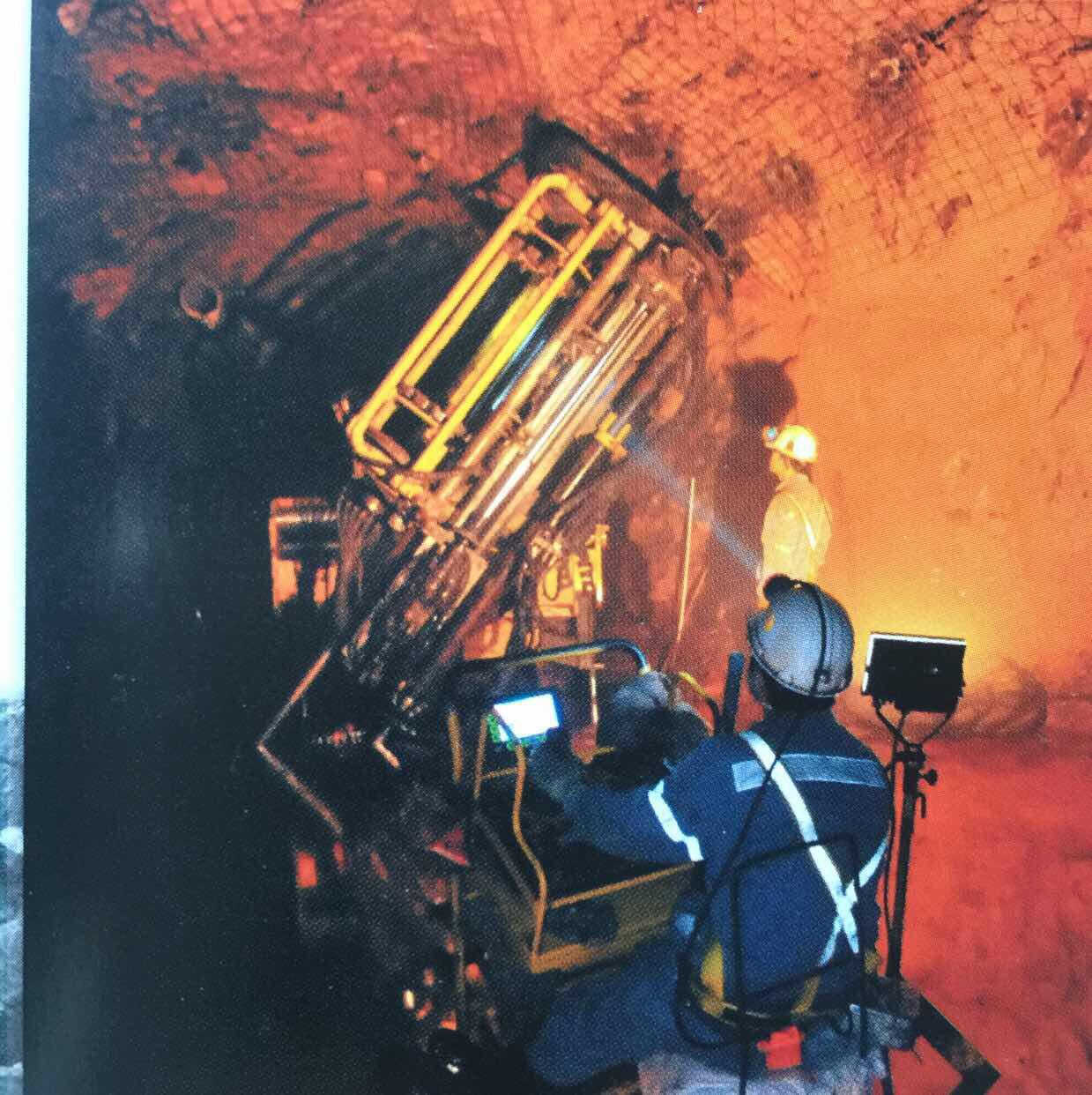 Remote control mining equipment_radio remote control system drill jambo__drill jumbo_line of sight_underground mining_HOT Mining_kyle